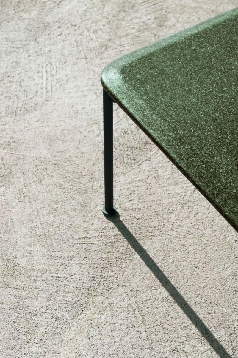 Tischplatte aus Lavastein