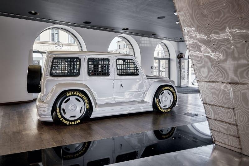 Mercedes-Benz, Virgil Abloh, neue G-Klasse
