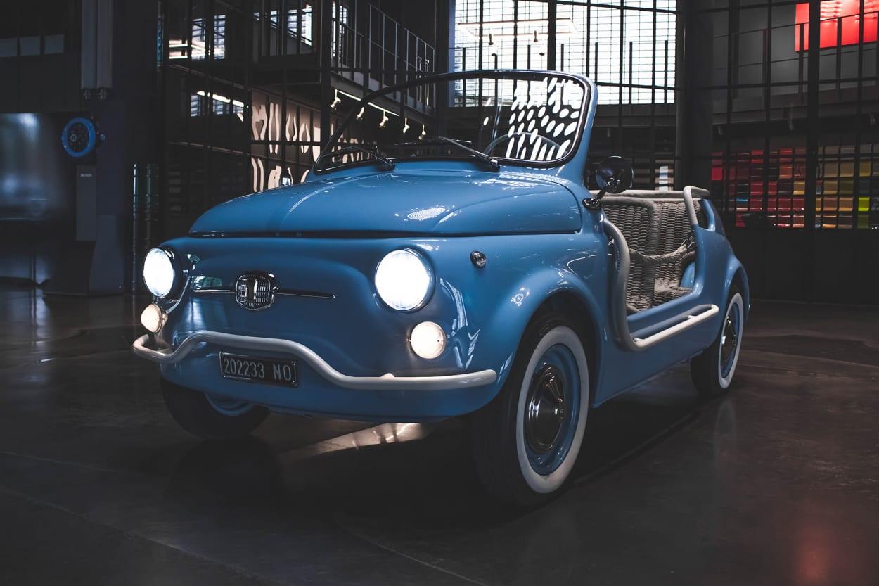 Garage Italia, Design, Auto, Fiat 500, Klassiker, Front, Leuchten, Reifen