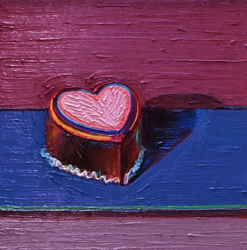 Liebe ist... ein dunkler Herzkuchen