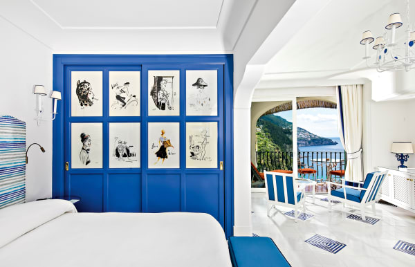 """Die neuen Räume des """"Il San Pietro"""" in Positano wirken lichter und moderner."""