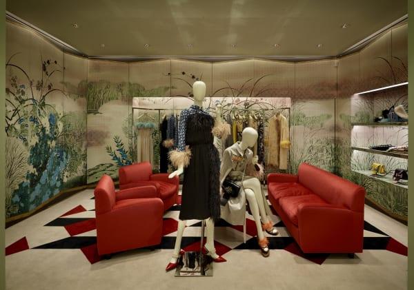 Graphic Rooms Prada Paris