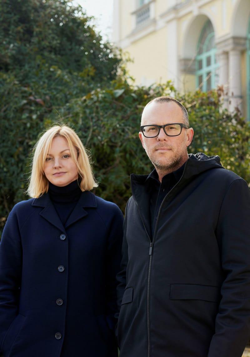 Phillip K. Smith III und Karin Gustafsson.