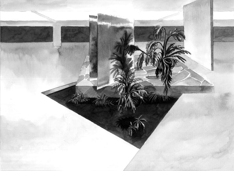 Yoann Pisterman, Painting, Garage Plant