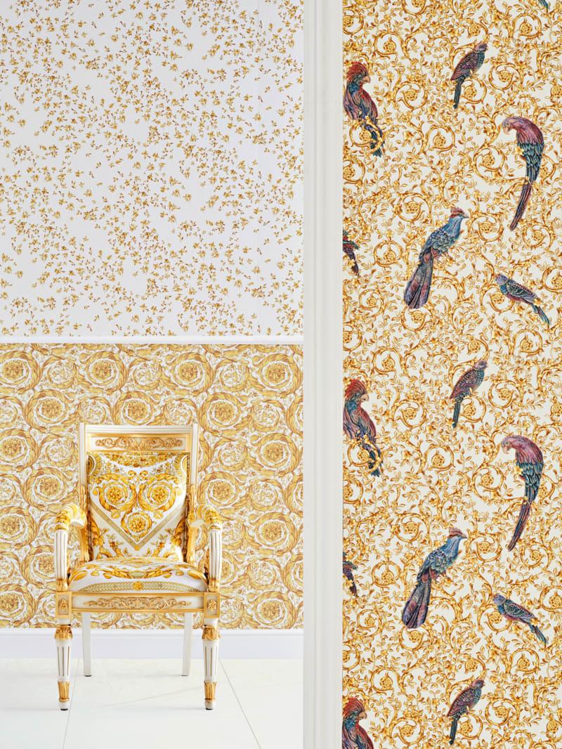 """Versace, """"Barocco Birds"""""""