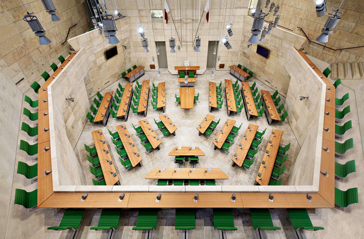 Molteni, Parlament Malta, Renzo Piano