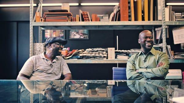 Peter und David Adjaye.