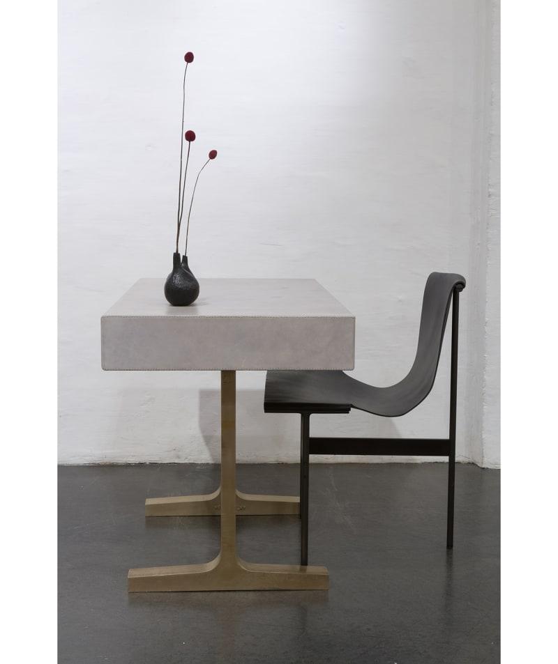 """""""Leather Writing Desk"""", BDDW"""