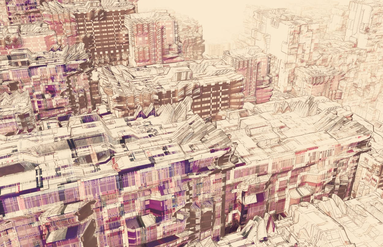 Atelier Olschinsky, Cities Illustration pixel