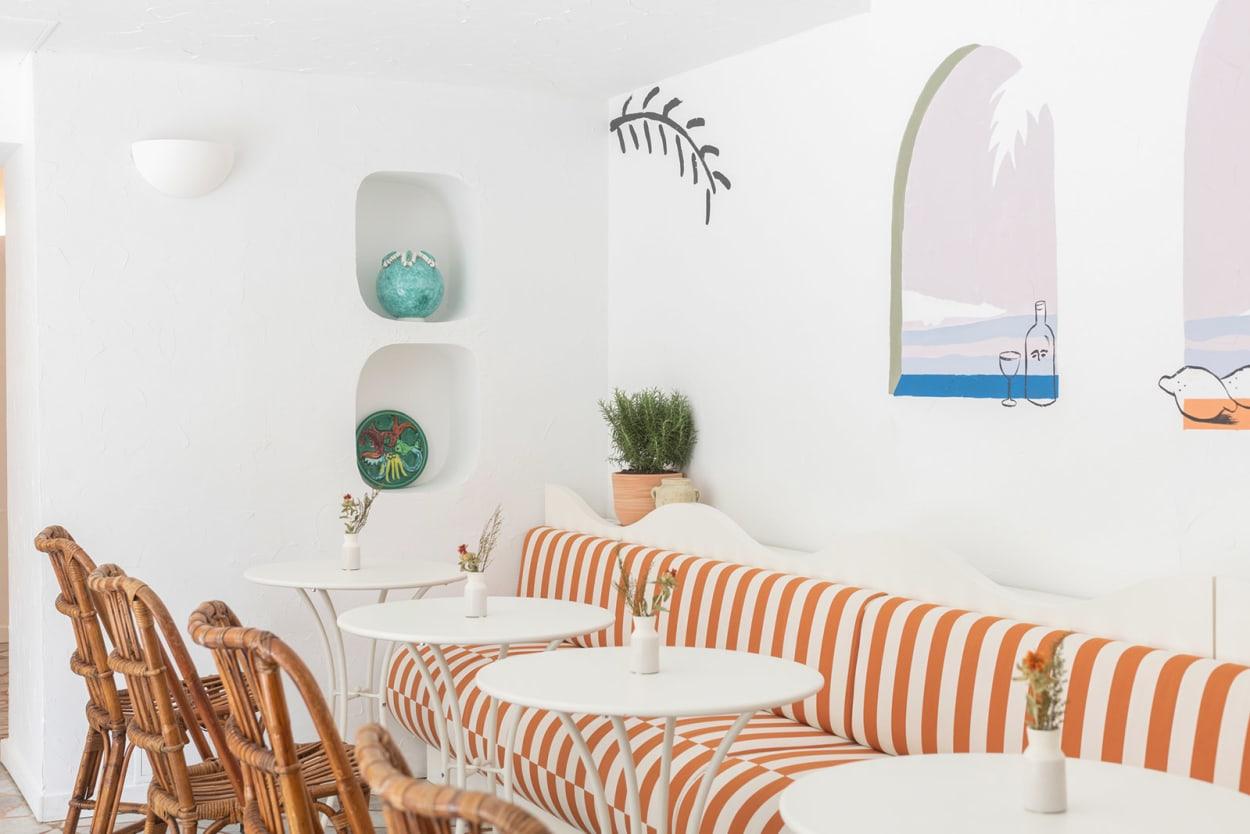Hôtel Le Sud, Côte d'Azur, Interiordesign