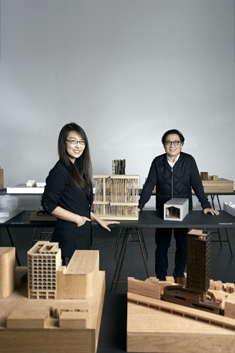 Rossana Hu und Lyndon Neri.