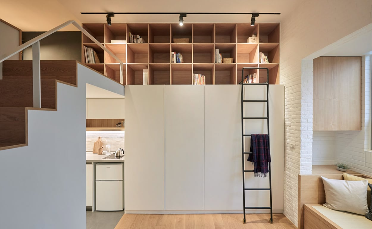 Offener kleiderschrank in kleinem zimmer  Wohnen auf kleinem Raum – jetzt auf AD - AD