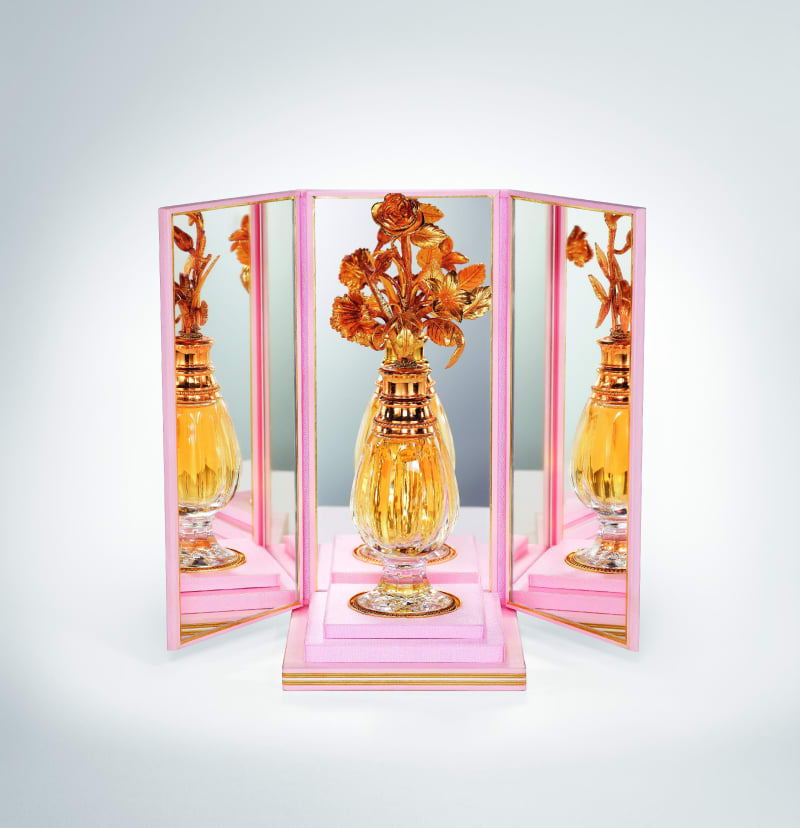 Diorissimo, 1956, limitierter Baccarat Kristallflakon