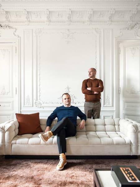 Christophe Comoy und Luis Laplace.