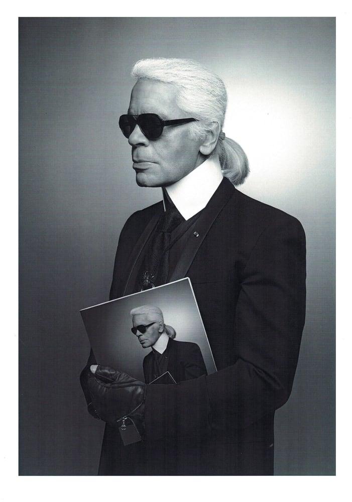 Die erste Ausstellung nach seinem Tod: Karl Lagerfeld – Visions