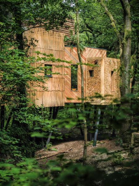 Luxus-Baumhaus für Naturverbundene