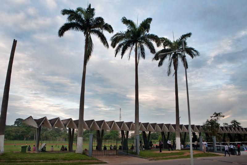 Stadium at KNUST (Kwame Nkrumah University of Science and Technology), Kumasi (Ghana), von KNUST Development Office, 1964-1967.