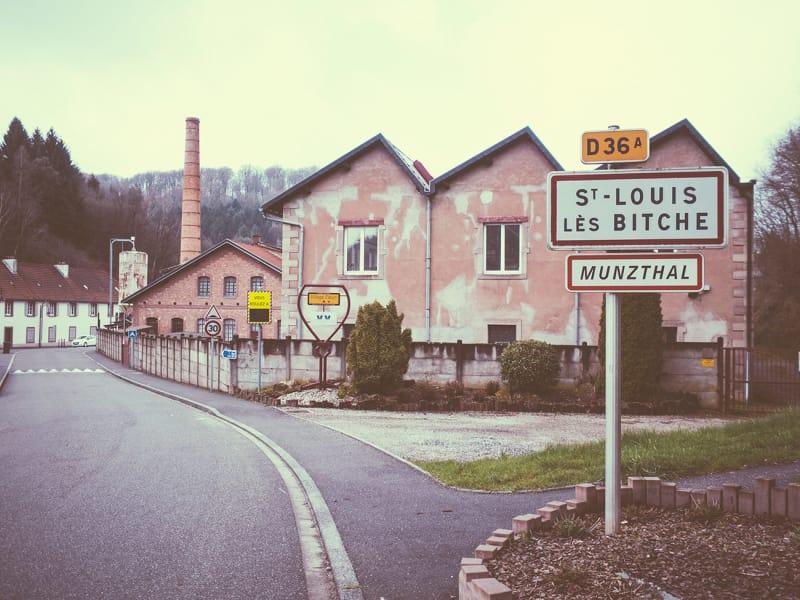 Saint Louis Ortsangabe