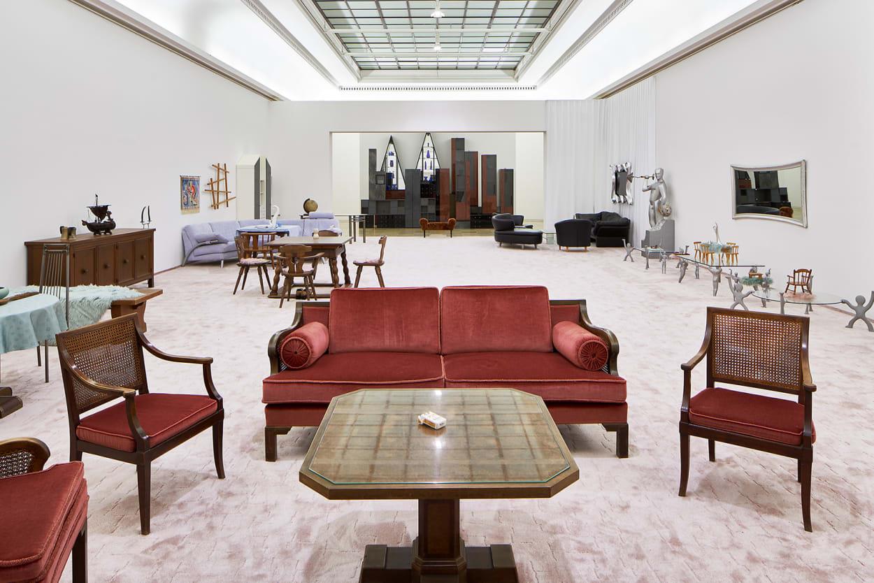Ausstellung, Haus der Kunst, Innenleben, Interior