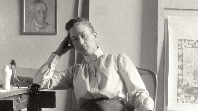 Portrait HIlma af Klint
