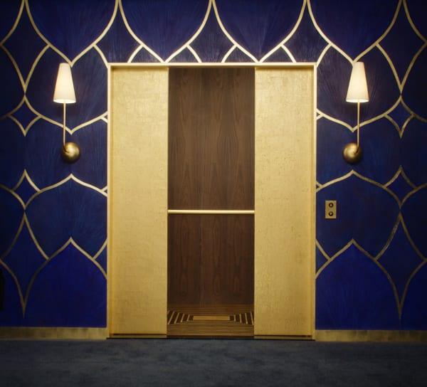 Der InStyle Golden Globe Aufzug, entworfen von Nicole Hollis