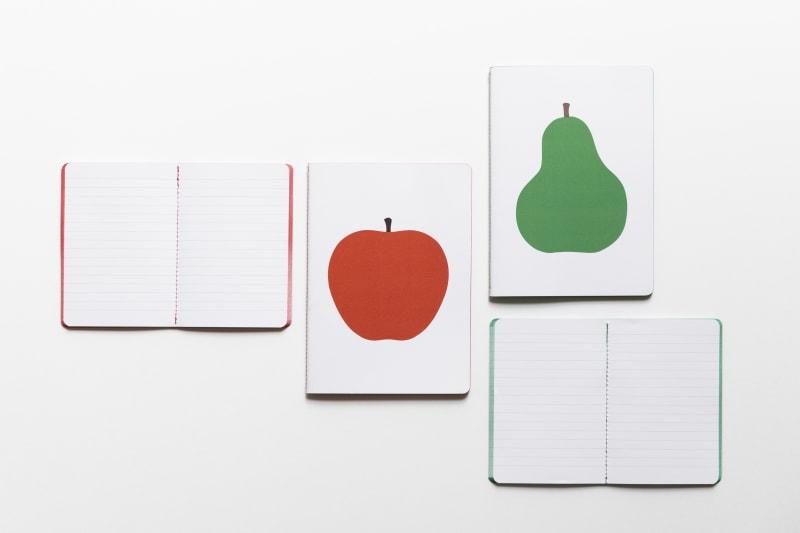 Notizbücher mit Motiven von Enzo Mari