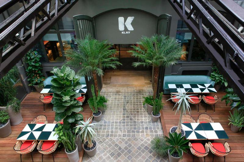 "Restaurant ""Sinople"" des Sportclubs Klay"