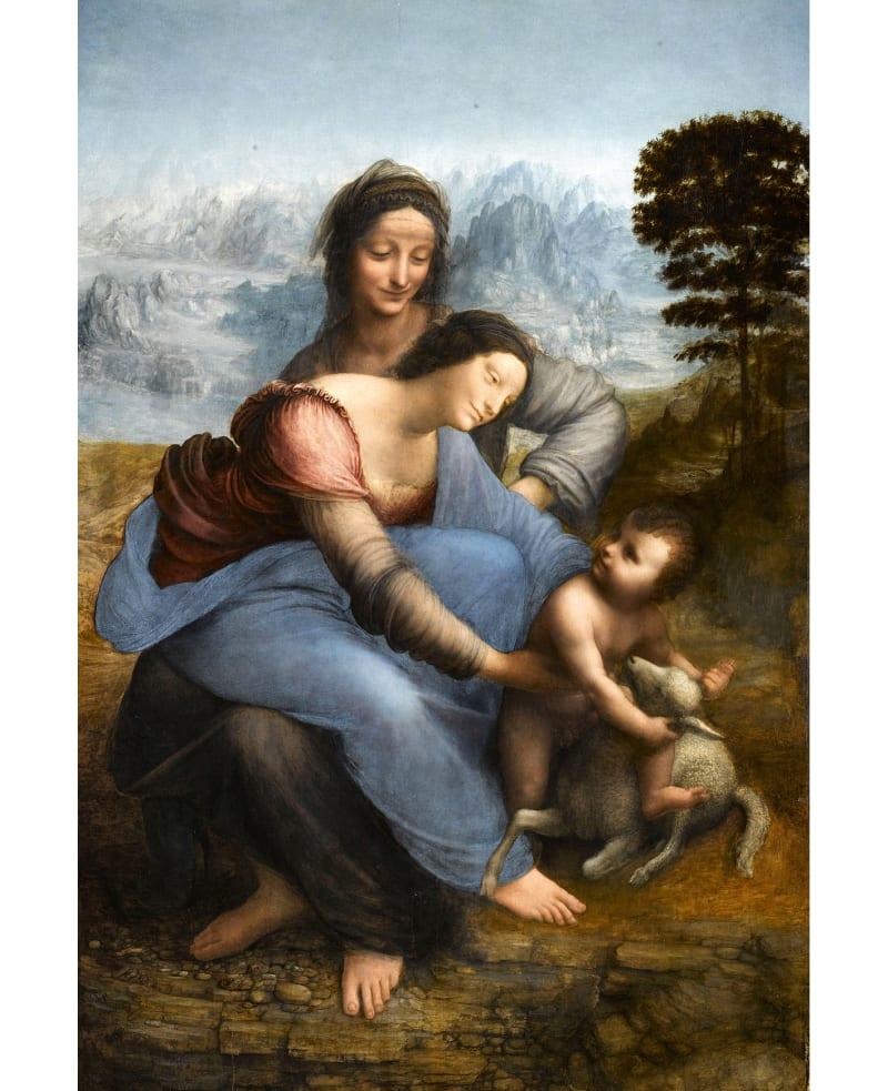 """1. """"Leonardo da Vinci"""", Louvre, Paris"""