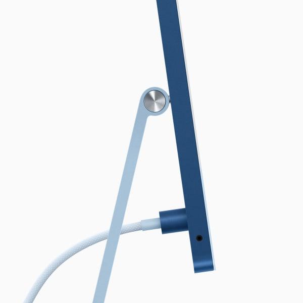 Der neue Apple iMac, flach wie eine Flunder.