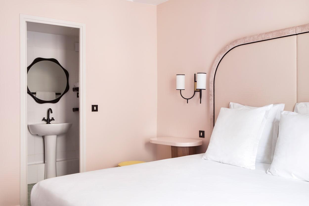 Schlafzimmer, Hotelzimmer, Hotel, Bienvenue