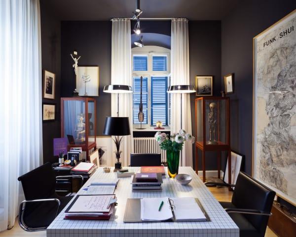Das Büro von Jan Teunen.