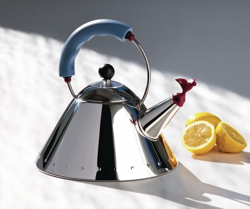 "Klassiker für Tea Partys: Alessis Wasserkocher ""9093"""