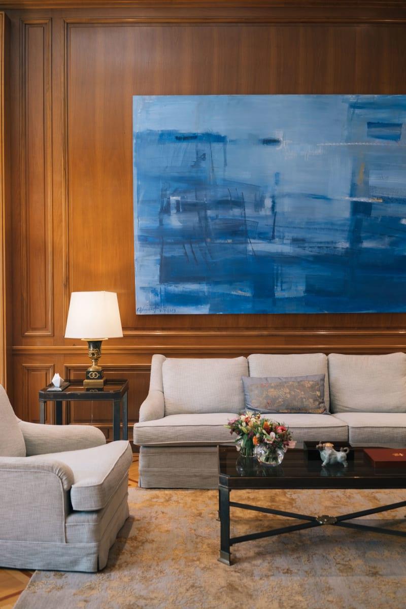 Villa Maximos - Gemälde