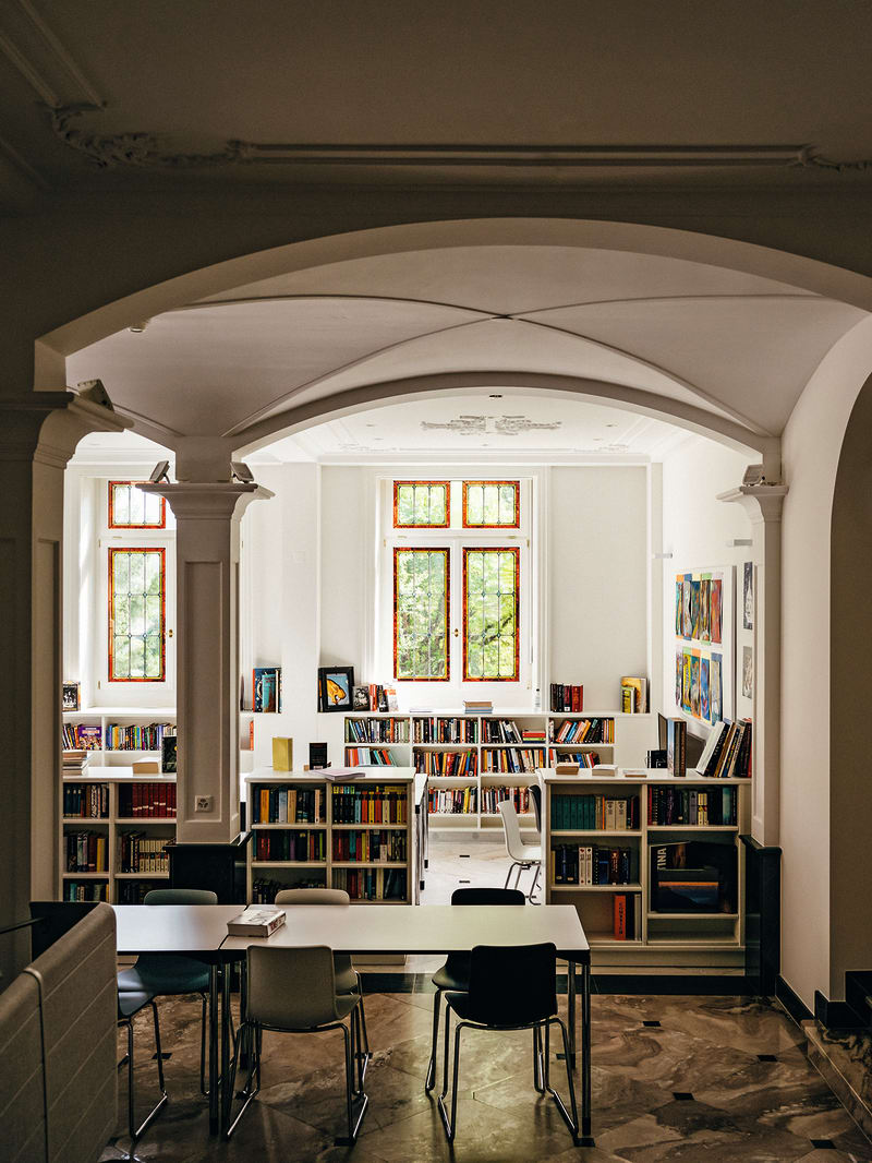 Internat Rosenberg Bibliothek