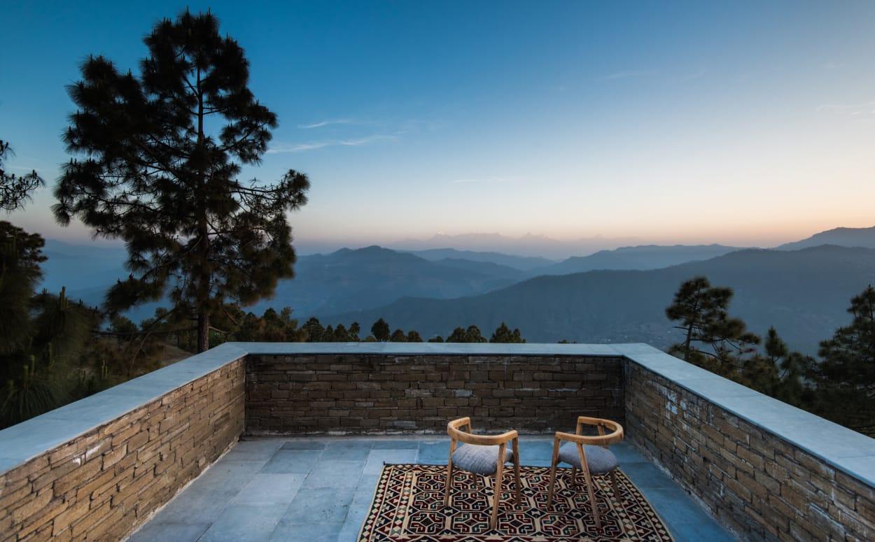Kumaon, Hotel, Indien, Zowa Architects