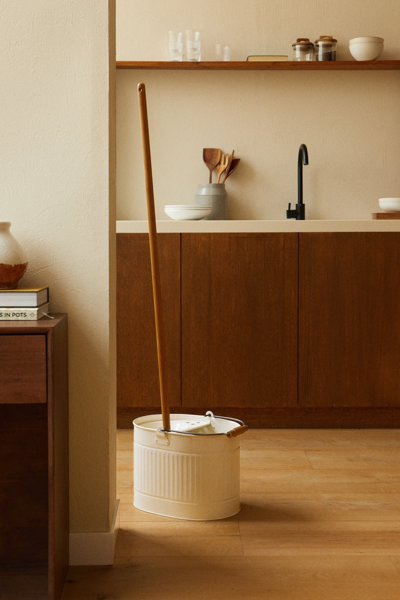 Zara Home Putzeimer und Mopp