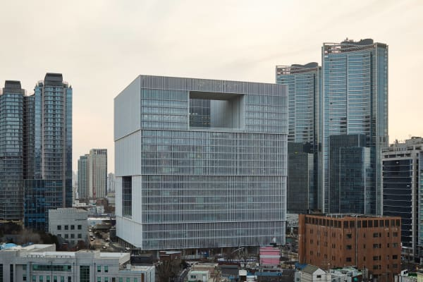Das Amorepacific Headquarter in Seoul.