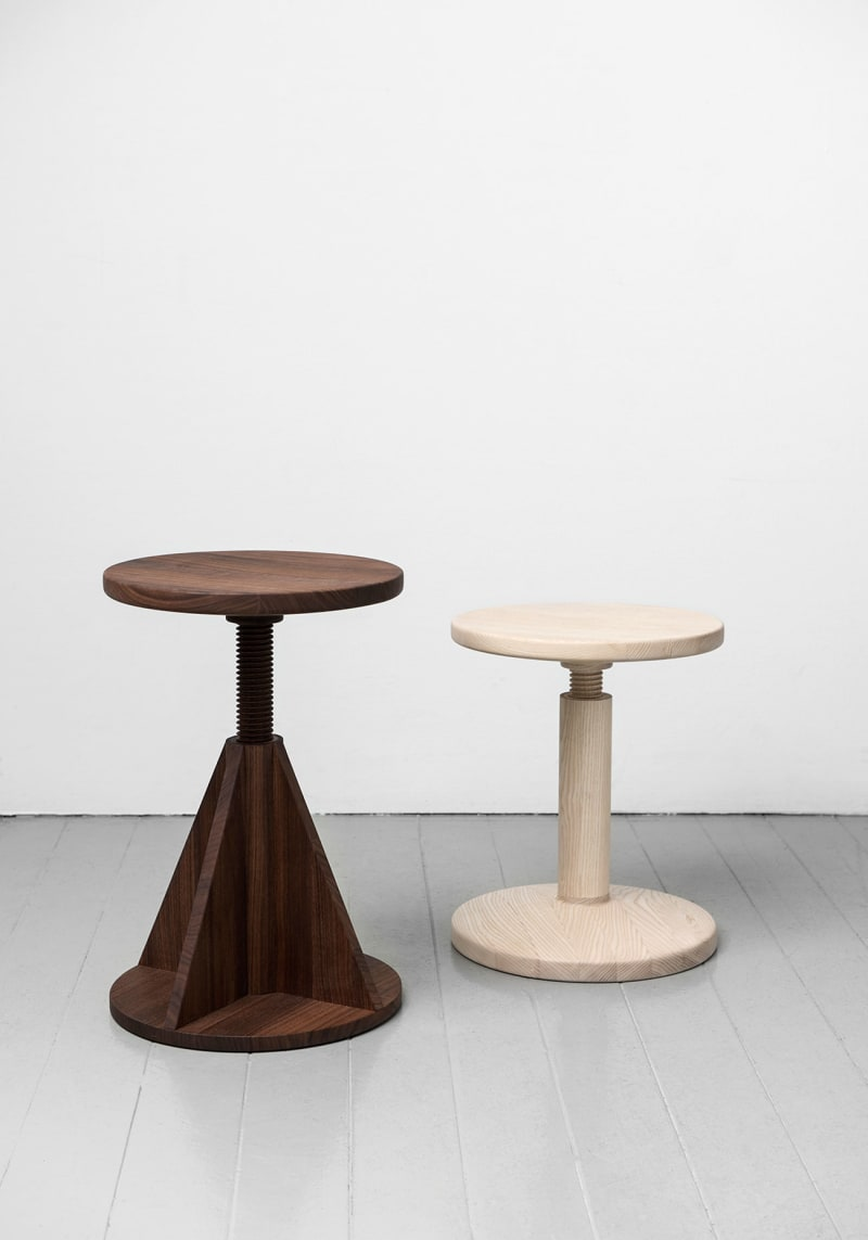 All-Wood-Stool,-Karoline-Fesser,-hem