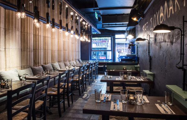 """""""Es ist ein Stück Athen im Herzens London"""", sagt die Interiordesignerin, die in Griechenland aufgewachsen ist."""