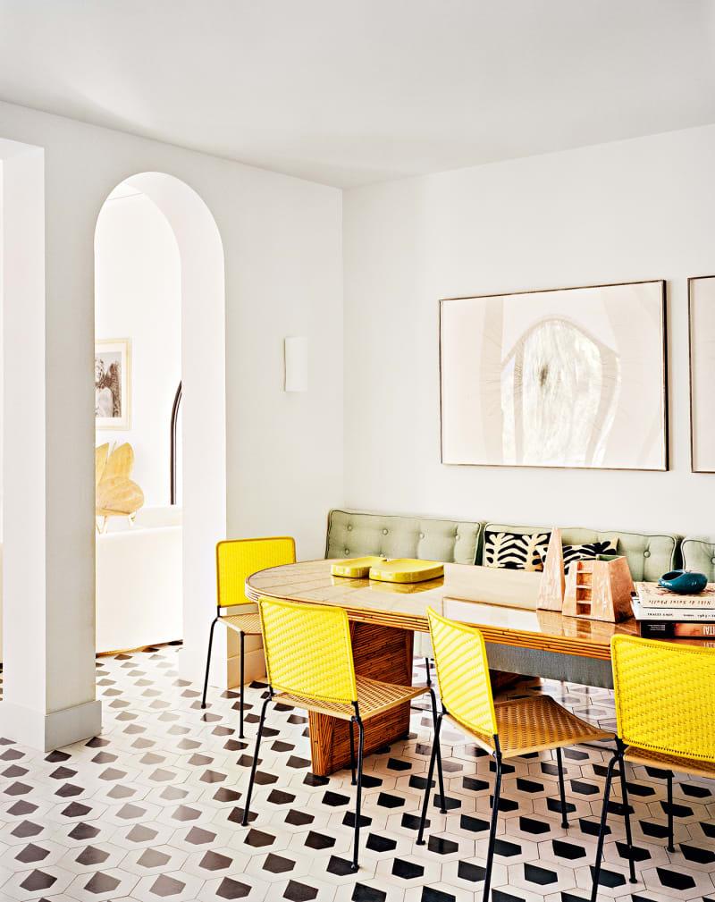 Haus Côte d'Azur, India Mahdavi, Esszimmer