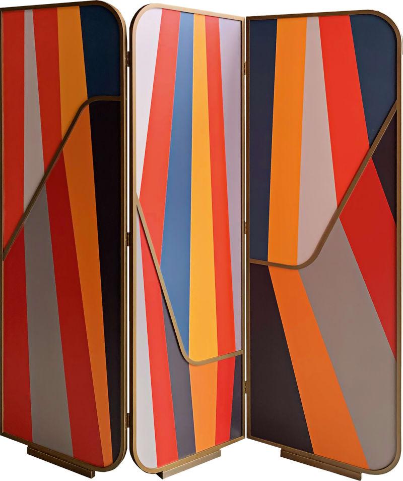 """3. Carlo Donati, """"Stripe shade"""""""
