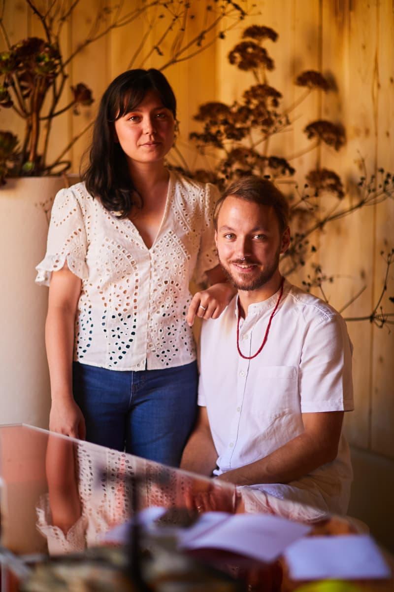 Shizuka Saito und Valentin Dubois von Studio Baltik