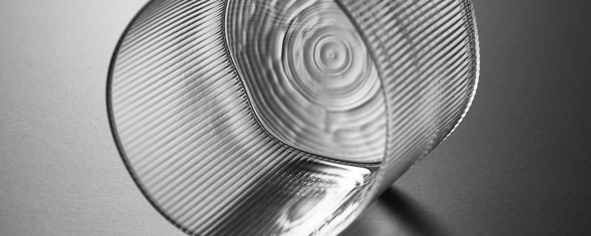 Circle Tischglas von Milena Kling für Lasvit