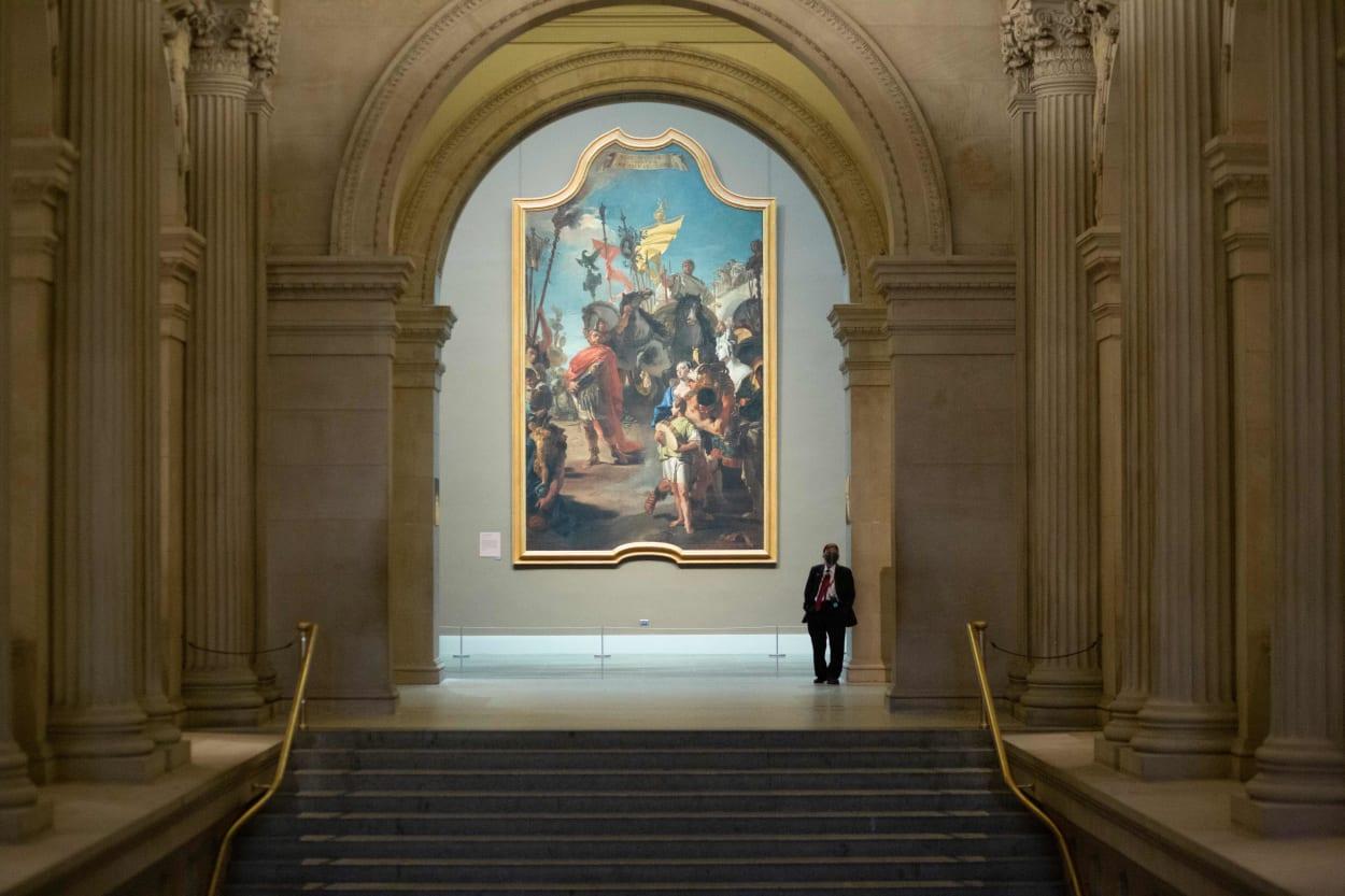 Große Halle des Metropolitan Museum of Art in New York