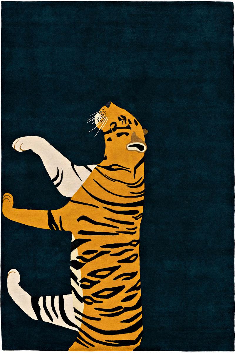 "9. ""Tiger"" von The Rug Company"