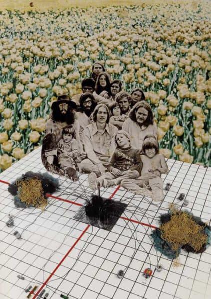 "Collage für das Cover ""Rassegna"" 1971."
