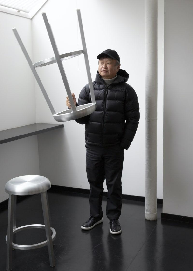 "Hocker ""Za"" von Naoto Fukasawa für Emeco"