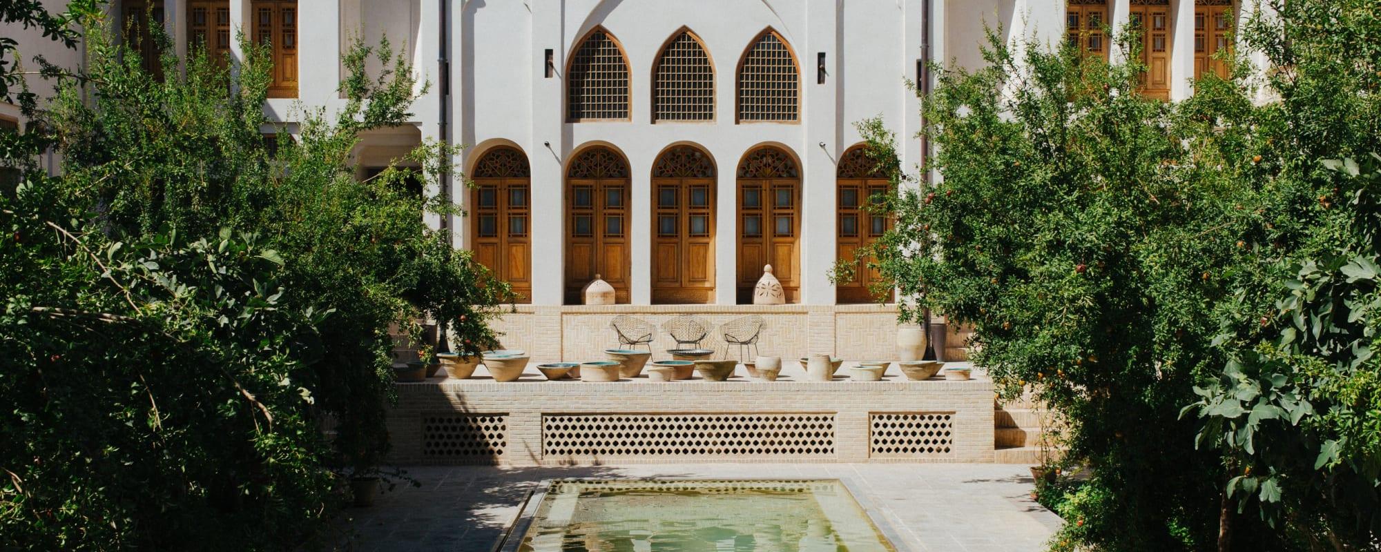 Das Manouchehri House in Kaschan