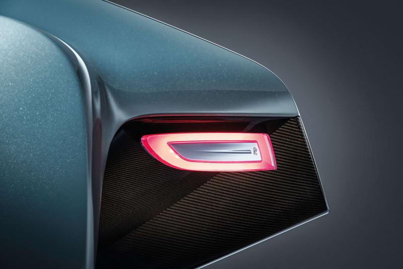 Rolls Royce Vision Next 100 Rücklicht