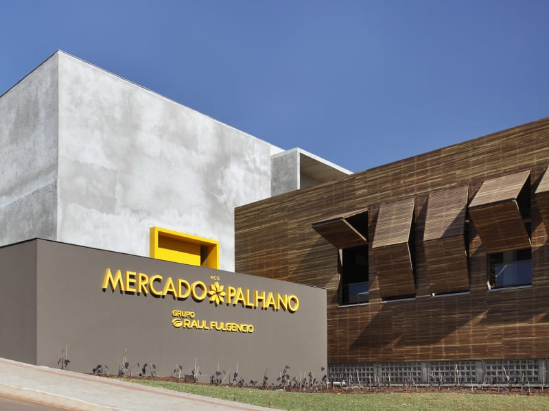 Palhano Ecomarket Studio Guilherme Torres
